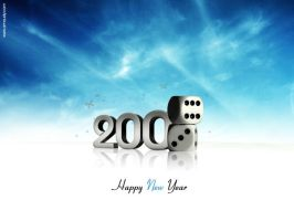 HAPPY new YEAR -2009 by mustange