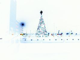 Negative Christmas Tree by vbcsgtscud