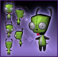 Gir Dog Suit 3D by TimothyB