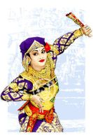 the dancer by indonesia