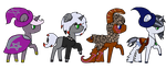Pony adopt auctions open by HamsterFluf