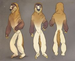 Reference Sheet: Sumbul by KlakKlak