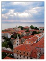 Zadar - Cathedral View by Limaria