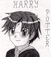 Harry Potter by Klonoayxy