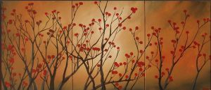 Red-Blossom-Branches by ModernArtist123