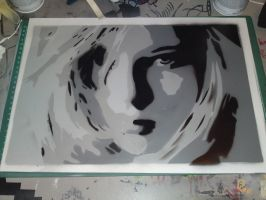 first gray scale stencil by karl-penguin