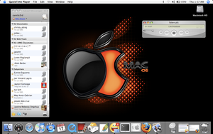 my MAC Desktop by camilord