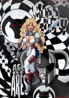 Miss July: Age of ARES by Kaufee