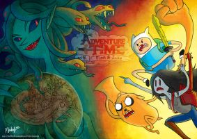 ADVENTURE TIME Illustration by MicehellWDomination