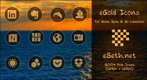 eGold Icons for Android by gseth