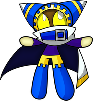 Magolor... PUFFED by Blaziken54