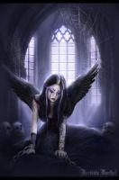 ...Gothic Angel... by darkclub