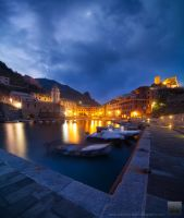 Vernazza Daybreak by davidrichterphoto