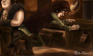 Hiccup and the Soup Bowl 6 by masterrohan