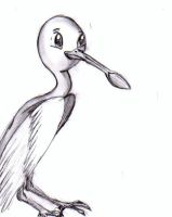 Spoonbill by AwesomePonyTail