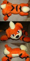 Floppy Growlithe Plush by Shadowless-Dreamer