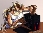 PATREON Monthly Commission Pool 07- Andy at Work by Predaguy
