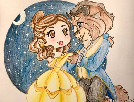 Day 23: Tale As Old As Time by LaPetitLapearl