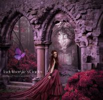 Lady Aubergine's Garden by ADamselinDesign