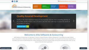 website development compny in usa by arkasoftwares
