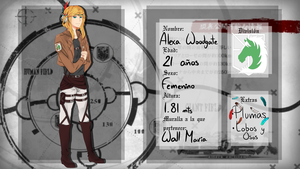 TH: Alexa Woodgate by ponica88