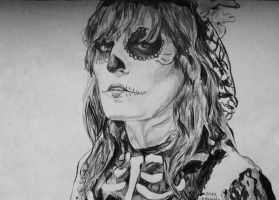 Florence Welch as a Zombie girl by Acola