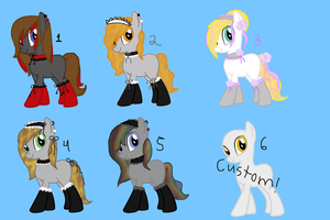 Maid pony adoptable ^^ - Closed by JewelThePonyLover12