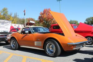 Pumpkin Vette by SwiftysGarage