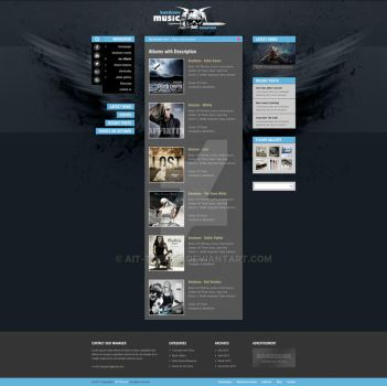 Albums - Bandzone WP Theme by ait-themes