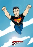 Superboy colored by JeremyWhittington