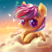 Scootaloo by AquaGalaxy