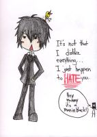 Reborn - Hibari Message To All by Tasoku