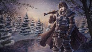 Snow Warrior by Tropic02