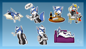 Dylan Stickers by Raven-Ark