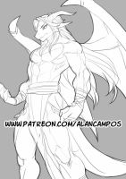 Book of Dragons - Page 02 - Preview by playfurry