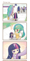 My little Kindergarten 4koma 4 strip by HowXu