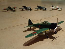 Jap Flight Line by DingoPatagonico