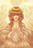 angel of hope by antique-teacup
