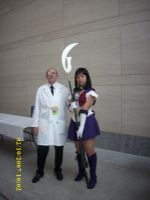 SailorSaturn Cosplay and other by confuzed-anime-fan