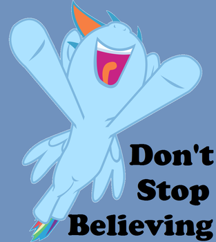 Don't Stop Believing by girthaedestroyer