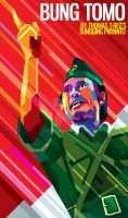 BUNG TOMO in WPAP by prie610