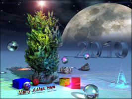 Christmas Tree for Hera III by chrisntheboat