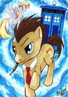 Doctor Whooves by skardash