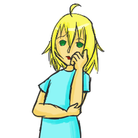 Emil- pensive hand thoughtful by nyanyancat207