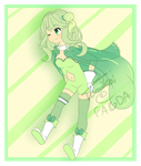 [ADOPT] Solosis Gijinka (OPEN - Price Cut!) by SevenOClockBacon