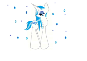 my Mlp Oc on computer! by mlppegasister