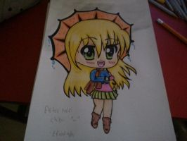 After rain chibi: contest entry by GeekyEffy