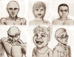 character exploration by Ziddius