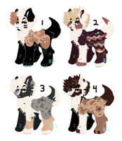 - Fluffy Puppo Adopts - by BleedingColorAdopts