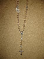 Off-White and Pearl Rosary by AudreysJewelry